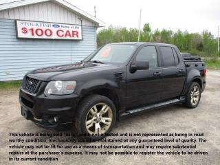 Used 2009 Ford Explorer Sport Trac ADRENALIN for sale in North Bay, ON
