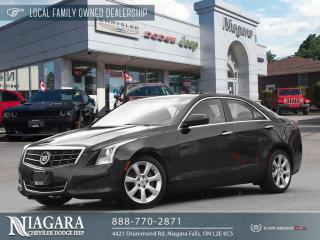 Used 2014 Cadillac ATS 2.0L Turbo | SUNROOF for sale in Niagara Falls, ON