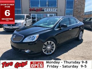 Used 2016 Buick Verano Nav | Htd Leather | Sunroof | B/Up Cam for sale in St Catharines, ON