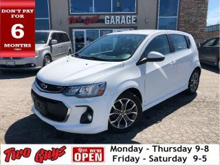 Used 2017 Chevrolet Sonic LT | RS PACKAGE | Bluetooth | B/Up Cam | Auto for sale in St Catharines, ON