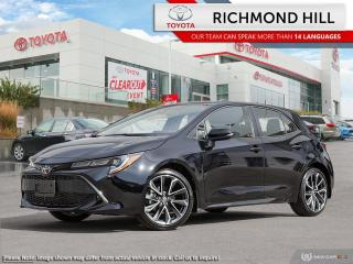 New 2020 Toyota Corolla Hatchback SE Upgrade  - Navigation - $86.06 /Wk for sale in Richmond Hill, ON