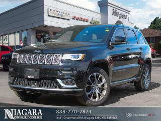 Used 2020 Jeep Grand Cherokee SUMMIT LOCAL TRADE LOW KMS for sale in Niagara Falls, ON