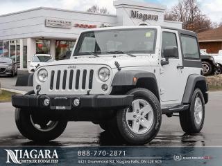 Used 2018 Jeep Wrangler JK HARD TOP | LOCAL TRADE for sale in Niagara Falls, ON
