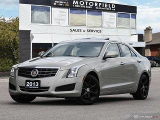 Used 2013 Cadillac ATS 2.0L Luxury Collection AWD *Navi, Cam, Bluetooth* for sale in Scarborough, ON