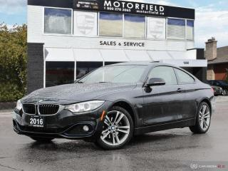 Used 2016 BMW 4 Series 428i xDrive AWD *Accident Free, Navi, Backup Cam* for sale in Scarborough, ON