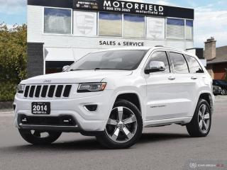 Used 2014 Jeep Grand Cherokee Overland ecoDiesel 4x4 *Navi, Adaptive Cruise, Loaded* for sale in Scarborough, ON
