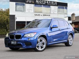 Used 2013 BMW X1 xDrive35i AWD M Sport Package *Navi, Panoramic Roof, PDC* for sale in Scarborough, ON