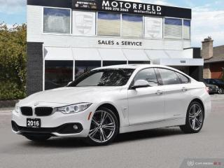 Used 2016 BMW 4 Series 428i xDrive Gran Coupe *Sport Line, Accident Free* for sale in Scarborough, ON