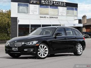 Used 2014 BMW 3 Series Touring Wgn 328i xDrive AWD *Accident Free, Navi, Backup Cam for sale in Scarborough, ON