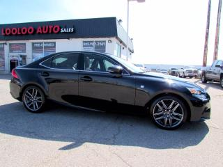 Used 2015 Lexus IS 250 F-SPORT 2 AWD NAVIGATION CAMERA CERTIFIED for sale in Milton, ON