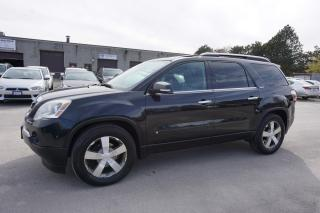 Used 2009 GMC Acadia SLT1 AWD 7 PSSNGRS CERTIFIED 2YR WARRANTY *1 OWNER*FREE ACCIDENT*DUAL SUNROOF BLUETOOTH HEATED LEATHER ALLOYS for sale in Milton, ON