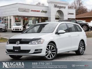 Used 2016 Volkswagen Golf Sportwagon Comfortline for sale in Niagara Falls, ON