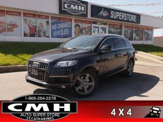 Used 2015 Audi Q7 3.0 quattro TDI Vorsprung Edition  DIESEL AWD for sale in St. Catharines, ON