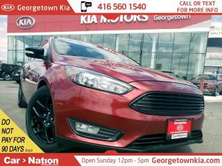 Used 2016 Ford Focus SE | LEATHER | ROOF | BU CAM | HTD SEATS | FOGS for sale in Georgetown, ON