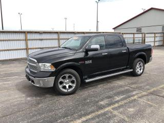 Used 2016 RAM 1500 Laramie DIESEL CREW CAB 4WD for sale in Cayuga, ON