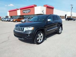 Used 2011 Jeep Grand Cherokee Overland 4dr 4WD Sport Utility Vehicle for sale in Steinbach, MB