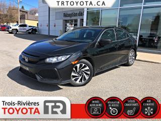 Used 2017 Honda Civic LX CVT 5 portes for sale in Trois-Rivières, QC