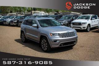 Used 2018 Jeep Grand Cherokee Overland - NAV, Leather, Parallel Park Assist for sale in Medicine Hat, AB