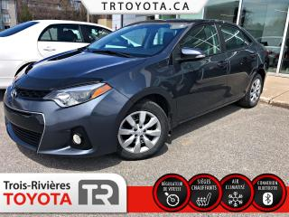 Used 2015 Toyota Corolla Berline 4 portes S for sale in Trois-Rivières, QC