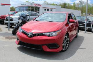 Used 2017 Toyota Corolla iM Hayon 4 portes CVT for sale in Shawinigan, QC