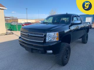 Used 2013 Chevrolet Silverado 1500 LTZ * Ext Cab * 4wd * Leather * 4 inch Lift * 35 Tall 18 inch Firemax Tires * Auto Start * Tonneau Cover * Rain Guard * Bed Liner * Trailer Hitch Rec for sale in Cambridge, ON
