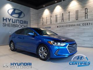 Used 2018 Hyundai Elantra GL+CAMERA+DEMARREUR+ANDROID/CARPLAY for sale in Sherbrooke, QC