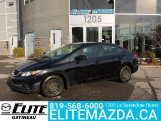 Used 2015 Honda Civic EX for sale in Gatineau, QC