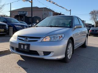 Used 2004 Honda Civic Sdn 4dr Sdn LX Auto for sale in Scarborough, ON