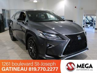 Used 2016 Lexus RX 350 Sport AWD for sale in Gatineau, QC