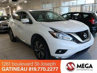 Used 2015 Nissan Murano Platinum AWD for sale in Gatineau, QC