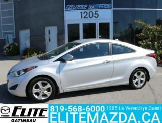 Used 2014 Hyundai Elantra Coupe for sale in Gatineau, QC
