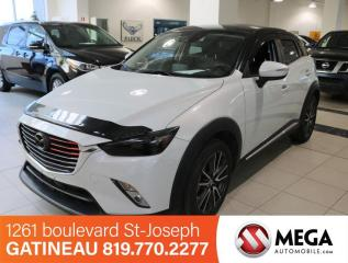Used 2016 Mazda CX-3 GT AWD for sale in Gatineau, QC
