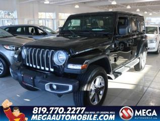 Used 2019 Jeep Wrangler Unlimited Sahara 4X4 for sale in Gatineau, QC