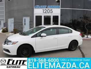 Used 2015 Honda Civic for sale in Gatineau, QC