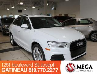 Used 2016 Audi Q3 Komfort Quattro for sale in Gatineau, QC