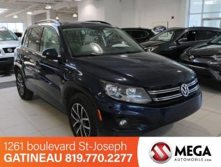 Used 2016 Volkswagen Tiguan TSI 4MOTION COMFORTLINE for sale in Gatineau, QC