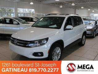 Used 2016 Volkswagen Tiguan TSI 4MOTION SPECIAL EDITION for sale in Gatineau, QC