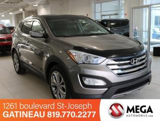 Used 2013 Hyundai Santa Fe LIMITED SPORT AWD for sale in Gatineau, QC