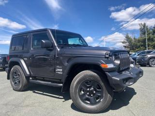 Used 2019 Jeep Wrangler SPORT 4X4 V6 3.6L BLUETOOTH TOIT RIGIDE for sale in St-Malachie, QC