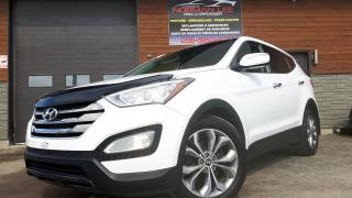 Used 2013 Hyundai Santa Fe Sport LIMITED AWD 2.0 TURBO CUIR TOIT PANORAMI for sale in St-Henri-de-Levis, QC