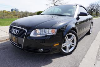 Used 2007 Audi A4 CONVERTIBLE / QUATTRO / ONTARIO CAR / TRUE BEAUTY for sale in Etobicoke, ON