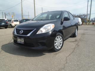 Used 2013 Nissan Versa 4dr AUTO SEDAN SAFETY NO ACCIDENT REMOTE START LOW for sale in Oakville, ON