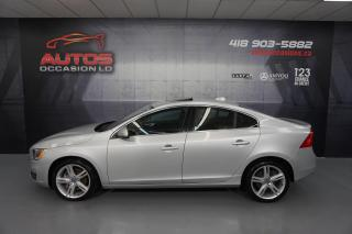Used 2016 Volvo S60 AWD T5 SPECIAL EDITION PREMIER CUIR TOIT GPS NAVI for sale in Lévis, QC