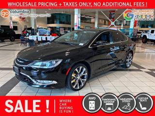 Used 2015 Chrysler 200 200C AWD Leather/Sunroof for sale in Richmond, BC