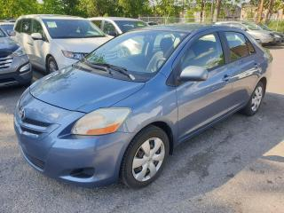 Used 2007 Toyota Yaris Sedan for sale in Brampton, ON