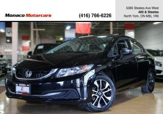 Used 2015 Honda Civic SEDAN EX - SUNROOF|BACKUPCAM|SIDECAM|ALLOYS for sale in North York, ON