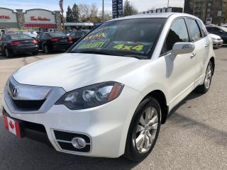 Used 2010 Acura RDX for sale in Scarborough, ON