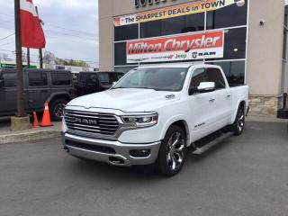 New 2020 RAM 1500 LONGHORN CREW 4X4/ECODIESEL/22 INCH WHEELS for sale in Milton, ON