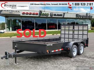 Used 2019 CANAda Landscape Trailer UT714-7K for sale in Cornwall, ON