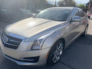 Used 2015 Cadillac ATS 4dr Sdn 2.0L Luxury AWD for sale in Hamilton, ON
